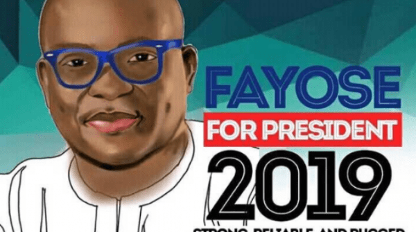 Why I buried my presidential ambition – Fayose